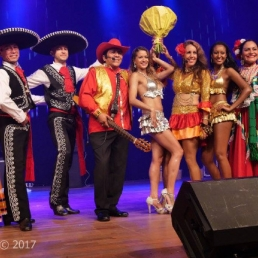 Event show Turnhout  (BE) Mexicaanse podiumshow