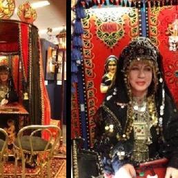 Fortune teller 's Gravenwezel  (BE) Waarzegster met Marokkaanse Tent