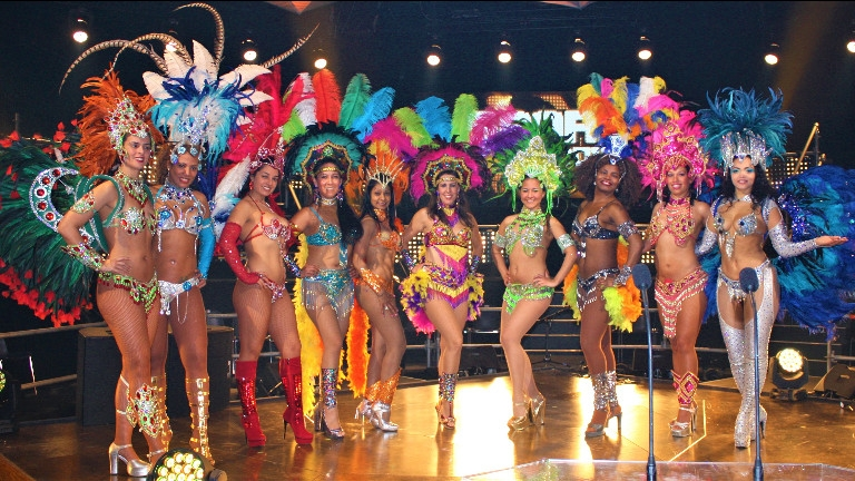 Dance group 's Gravenwezel  (BE) Brazilian Sambashow
