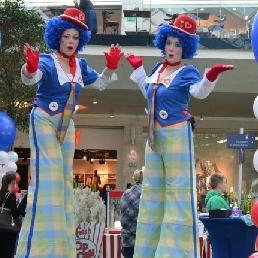 Animatie Diepenbeek  (BE) Cleaning Clowns