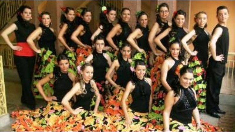 Event show Turnhout  (BE) Spaanse podiumshow Los Del Sol