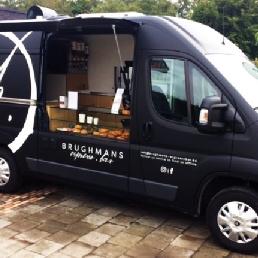 Food truck Brussel  (BE) Brughmans Espresso Bar