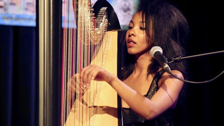 Harpist Gent  (BE) ZEM Singer & Harpist