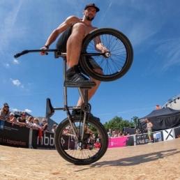 Stuntshow Geluwe  (BE) BMX Flatland/Freestyle Football