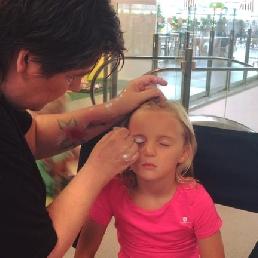 Make-up artist Zoutleeuw  (BE) Glitter Tattoos   Joeps
