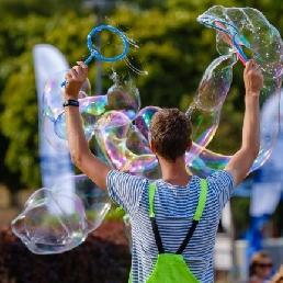 Trainer/Workshop Zoutleeuw  (BE) Zeepbellen Circus