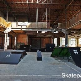 Sport/Spel Rixensart  (BE) Skatepark verhuur niveau 5