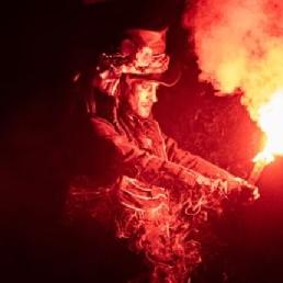 Stuntshow Antwerpen  (BE) Mystic Fire Theatre - Vuur, theater