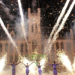 Stuntshow Antwerpen  (BE) Fire & Lightning Spectacle - Vuurwerk Sh