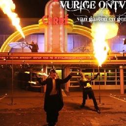 Stunt show 's Gravenwezel  (BE) The Fiery Receiving of Guests