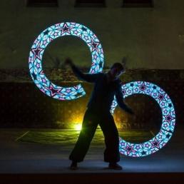 Jongleur Antwerpen  (BE) LED Show - Light Spectacles