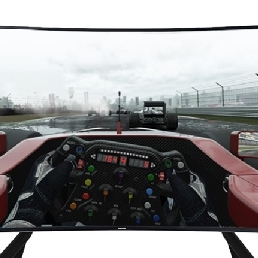 Sport/Spel Wenduine  (BE) VR Race Simulator