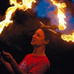 Stunt show Kortrijk  (BE) Fire show De Sven