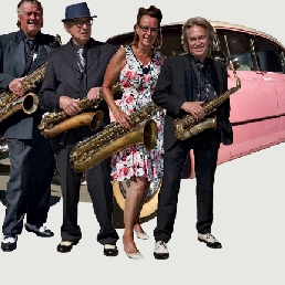 Saxofonist Groningen  (NL) Alto Kwartet, saxofoons. Ook buiten!