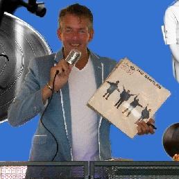 Drive-in show Zaandam  (NL) Johnny's DJ show - golden oldies - ed