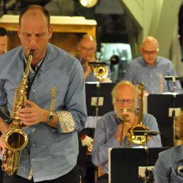 Swingend optreden van de Sea Sound Big Band