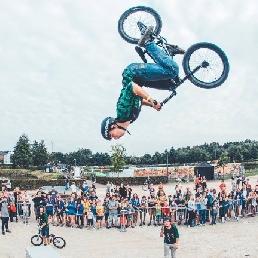 Stuntshow Tremelo  (BE) Bike Show: BMX, Biketrial, Monotrial